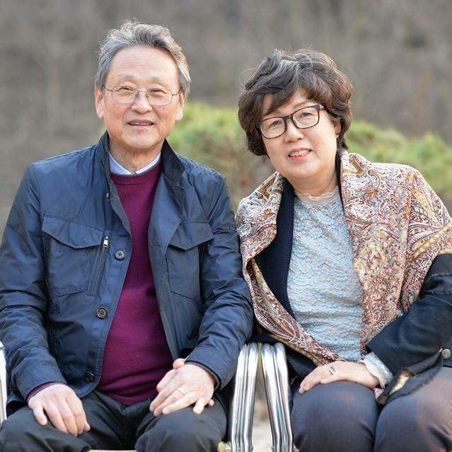 情넘치는 음식지원  유선자, 김종두 부부